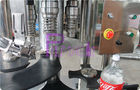 Stainless Steel Carbonated Drink Filling Machine , CSD Bottle Automatic Capping Machine