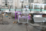 Pneumatic Capping Type Bottled Water Filling Machine With Adhesive Labeling Machine