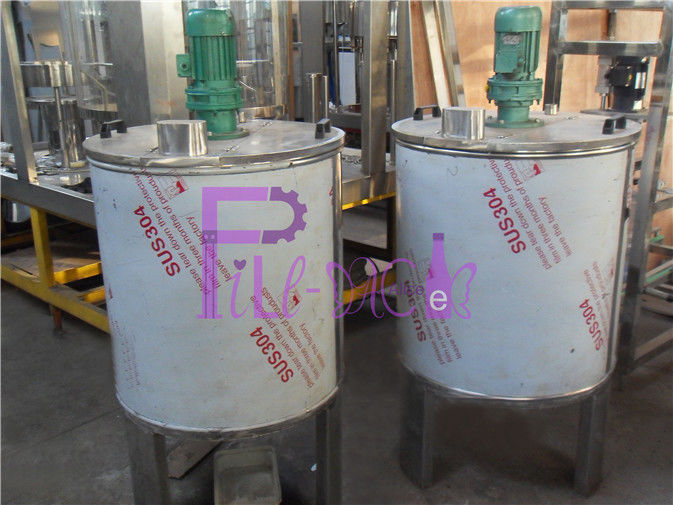 Automatic Juice Processing Equipment Single Layer Stainless Steel 304 Mixing Tank